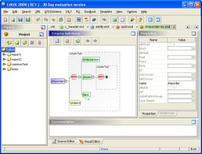 EditiX (for Linux/Unix) screenshot